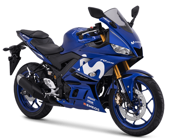 YZF R25 Yamaha Movistar